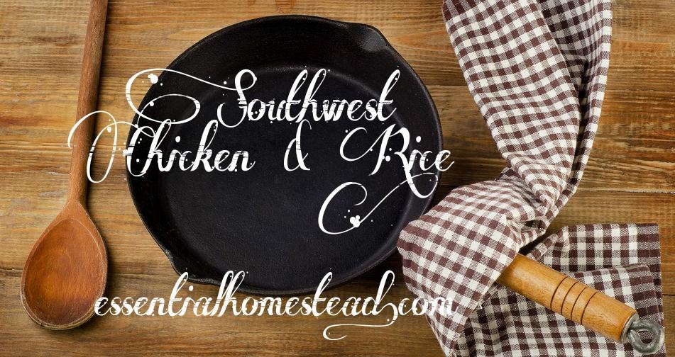 Southwest Chicken & Rice Skillet Recipe