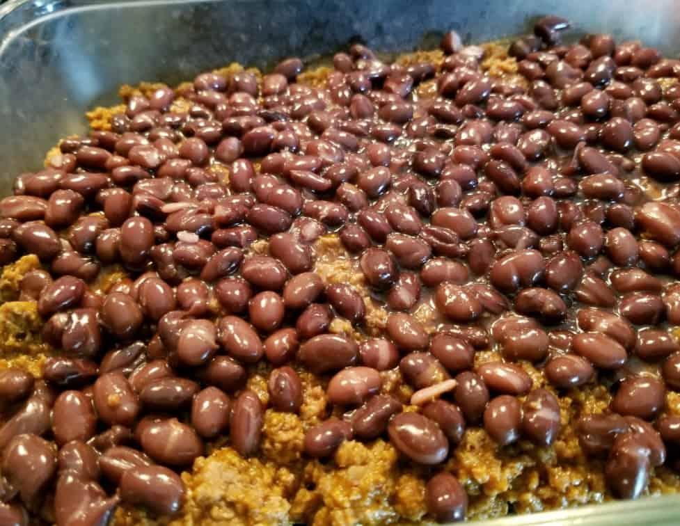 Taco Bean Casserole