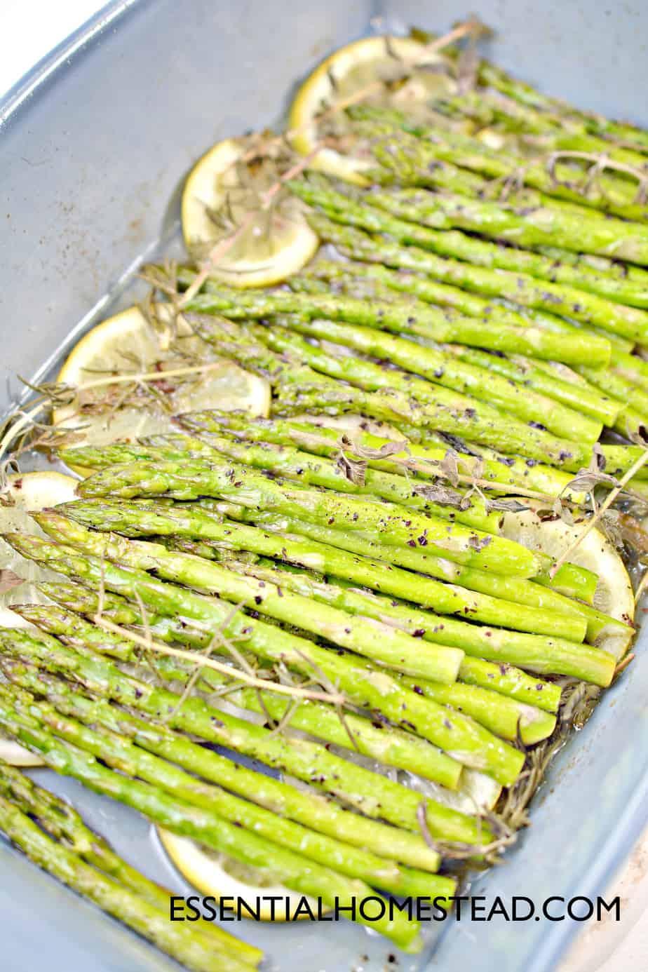 finished asparagus