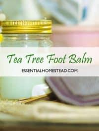 Foot Mask Recipe | Essential Homestead