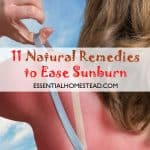 11 Natural Remedies to Ease Sunburn