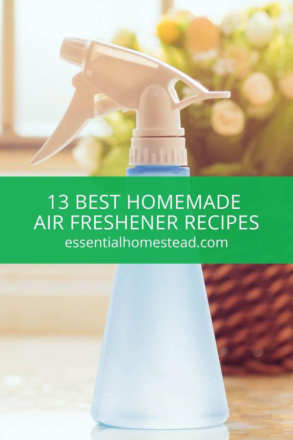 Homemade Air Freshener Recipes