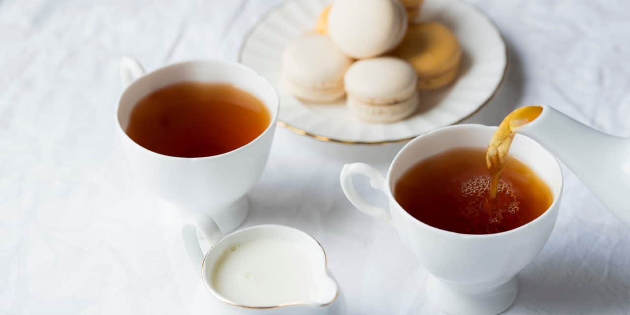 Why Should You Put Milk in Your Tea First?