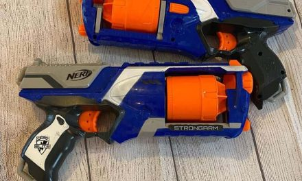Nerf Hammershot vs Strongarm: a comparison