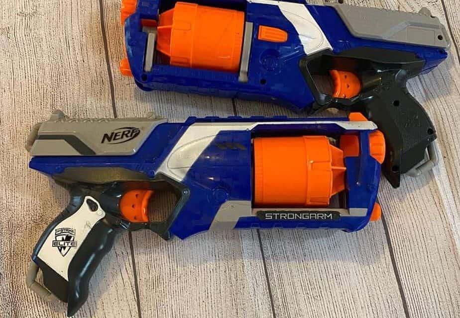 Nerf Hammershot vs Strongarm: a comparison