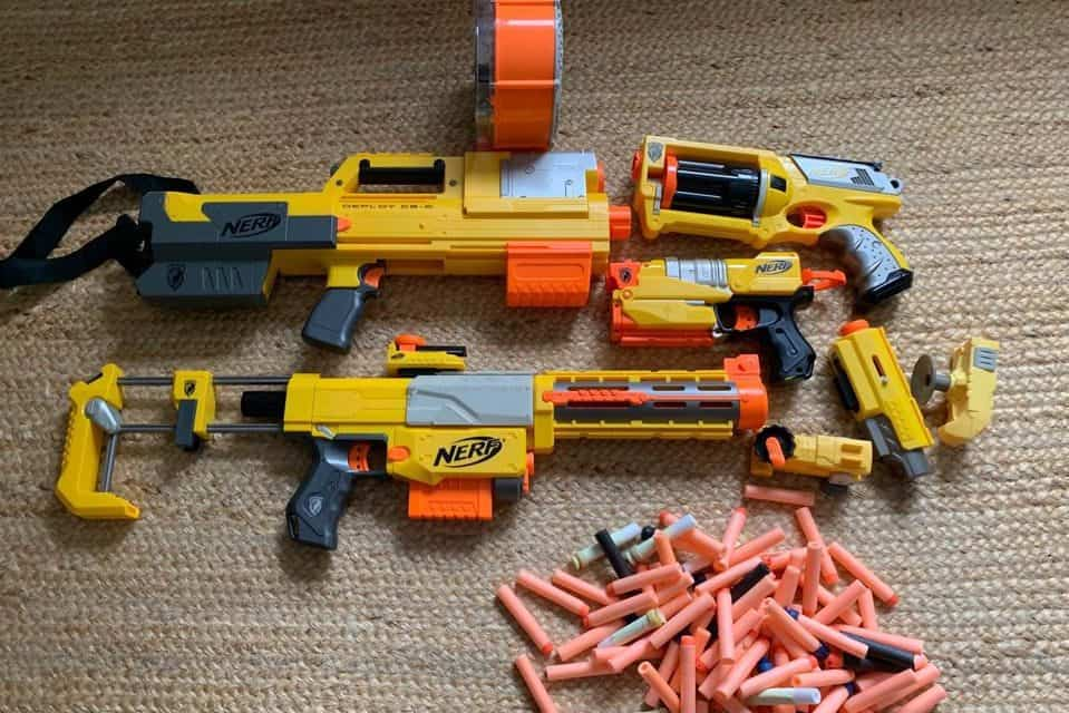 How to Throw an Awesome Nerf Birthday Party for Your Kid!