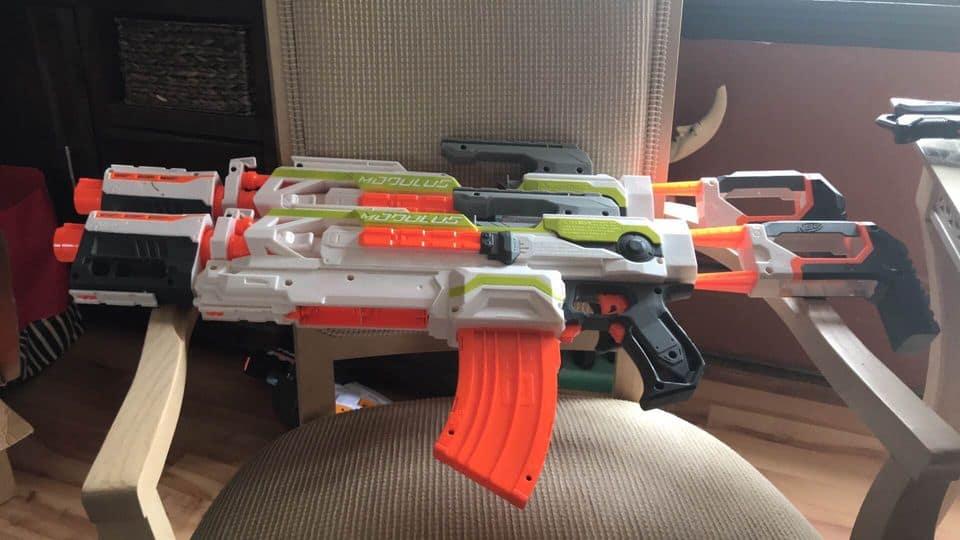 5 Ingenious Nerf Blaster Storage Ideas for your Kid's Room!
